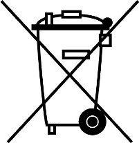 Logo équipements électriques et électroniques