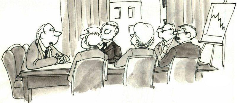 collaborateurs autour d'une table réunion